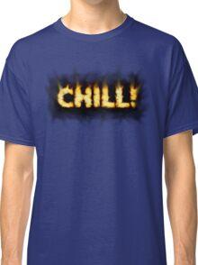 SOLD - SMOKIN' HOT TYPOGRAPHY Classic T-Shirt