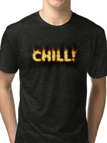 SOLD - SMOKIN' HOT TYPOGRAPHY Tri-blend T-Shirt