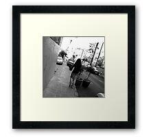 Lost in Beirut Framed Print