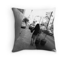Lost in Beirut Throw Pillow