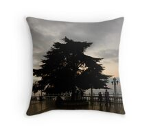 Lebanese National Emblem Throw Pillow