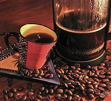 Long Night (coffee) by Deborah V Townsend