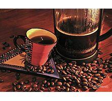 Long Night (coffee) Photographic Print