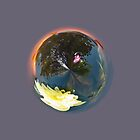 Pond In Globe by Robert Gipson