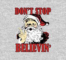 Don't Stop Believing Santa Unisex T-Shirt