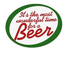 Most Wonderful Time for a Beer Photographic Print