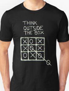 Think Outside The Box! Unisex T-Shirt