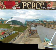 Baltic Peace Sign (pan photo) by Woodie