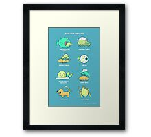 Know your parasites Framed Print