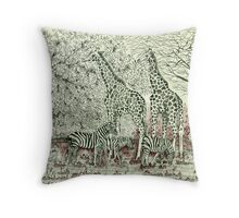 Coexistence Is The Key Throw Pillow