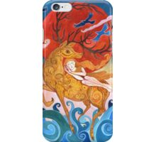 Hear the stags Roar iPhone Case/Skin