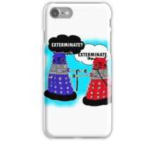 The fault in our daleks iPhone Case/Skin