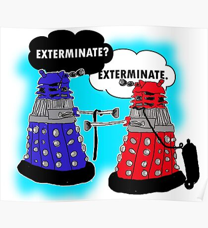 The fault in our daleks Poster