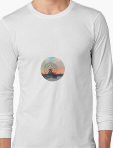 Ferris Wheels on Fire Long Sleeve T-Shirt