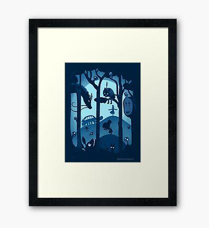 Magical Gathering Framed Print