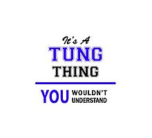 It's a TUNG thing, you wouldn't understand !! by allnames