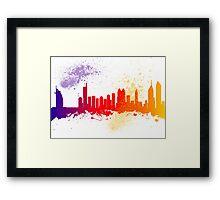Dubai  Skyline  Framed Print