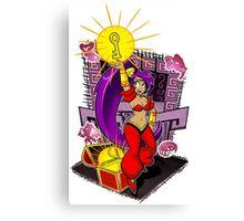 Shantae and Key Canvas Print