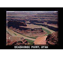 Deadhorse Point Photographic Print
