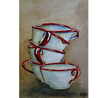7 Cups Photographic Print