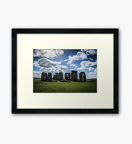 What's the Meaning of Stonehenge?! Framed Print