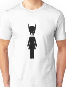 Wolverine Bathroom Sign Unisex T-Shirt