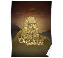 Leonardo DaVinci's legacy Poster