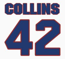 National football player Kirk Collins jersey 42 by imsport