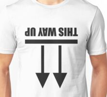 This way up [B] Unisex T-Shirt