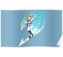Fairy Tail Logo- Lucy Poster