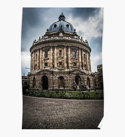 Oxford University's Radcliffe Camera Poster