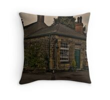 Wentworth Post Office Throw Pillow