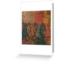 Red Rover, Red Rover Greeting Card