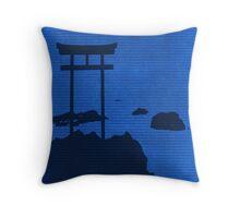 Introvert Shinto Throw Pillow