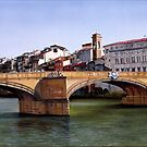 Santa Trinita Bridge by Matthew  Bates