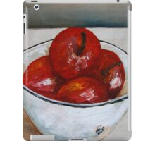 Bowl with apples iPad Case/Skin