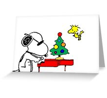 Merry Snoopy Greeting Card