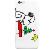 Merry Snoopy iPhone Case/Skin