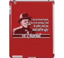 Churchill - Ugly iPad Case/Skin