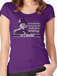Churchill - Ugly Women's Fitted Scoop T-Shirt