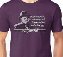 Churchill - Ugly Unisex T-Shirt