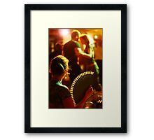 Tango Color Framed Print