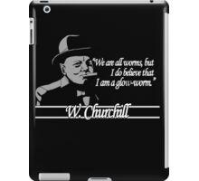Churchill - Glow Worm iPad Case/Skin