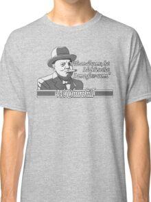 Churchill - Glow Worm Classic T-Shirt