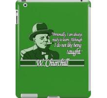 Churchill - Learning iPad Case/Skin