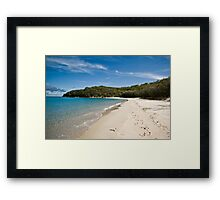 Putney Beach Landscape Framed Print