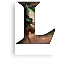 League of Legends - L - Riven Canvas Print