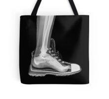 X-Ray of a foot and ankle in a running shoe Tote Bag