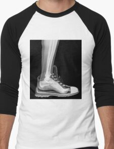 X-Ray of a foot and ankle in a running shoe Men's Baseball ¾ T-Shirt