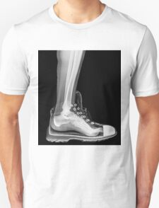 X-Ray of a foot and ankle in a running shoe T-Shirt